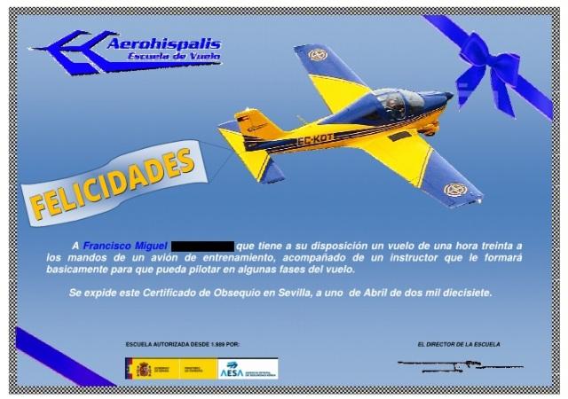 Diploma de vuelo