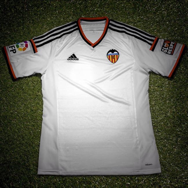 Las nuevas camisetas Adidas del Valencia | Futbolprimera