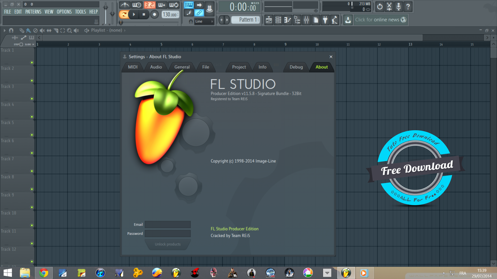 Download Crack Fl Studio 12 Alpha (11.5.8)