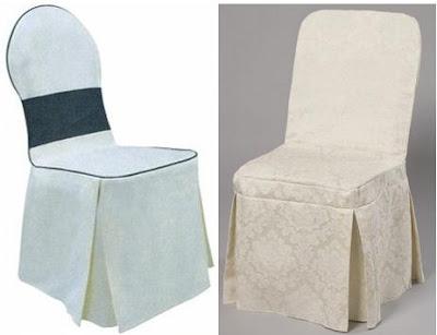 ผ้าคลุมเก้าอี้แบบเต็มตัว จีบ 4 มุม