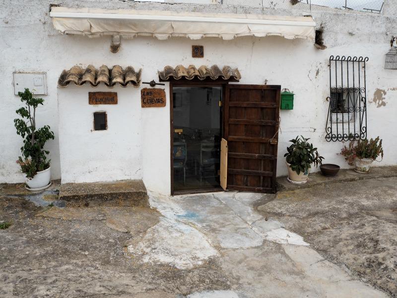 Las Cuevas restaurant, San Miguel de Salinas