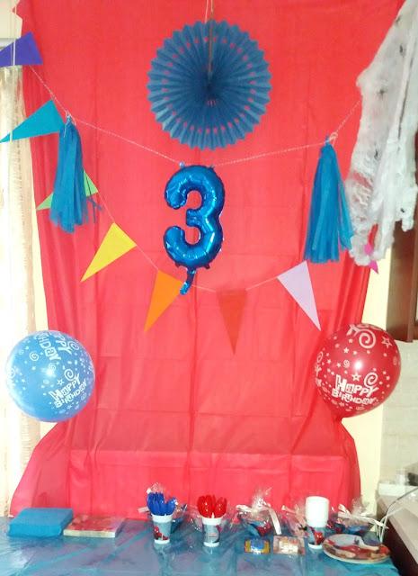 spideman party decorations