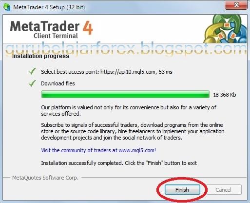 Cara trading forex di metatrader 4