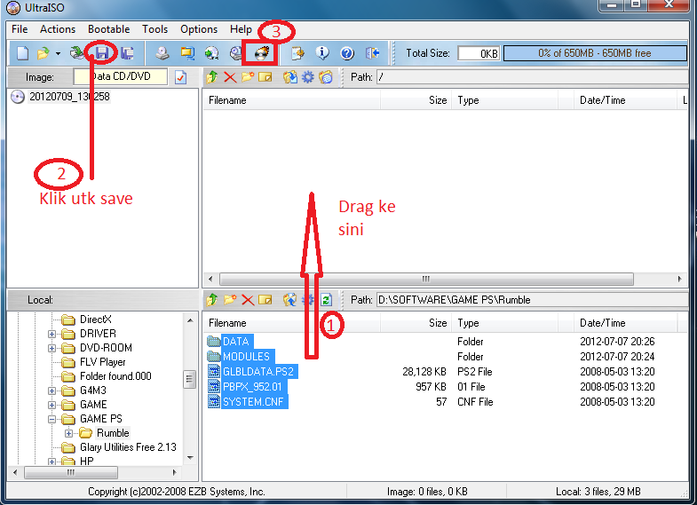 Coretan Anak Kampoeng: Cara Mudah Membuat File ISO Menggunakan ...