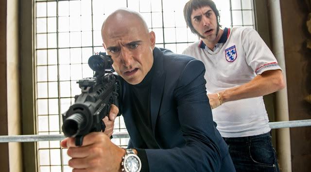 """Mais ação no trailer inédito de """"Irmão Espião"""", com Mark Strong e Sacha Baron Cohen"""