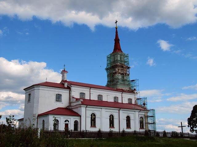 Мядзведзічы. Касцёл Святых апосталаў Пятра й Паўла 2013