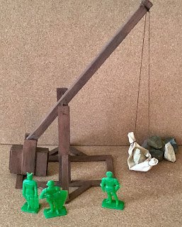 Reader Built Trebuchet, Siege Tower and Battering Ram