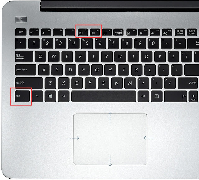 cara mudah mengatur cahaya laptop
