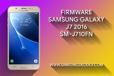 Samsung Firmware J710FN J7 2016