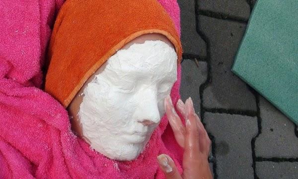 sádrové masky - Kurz osobnostního rozvoje