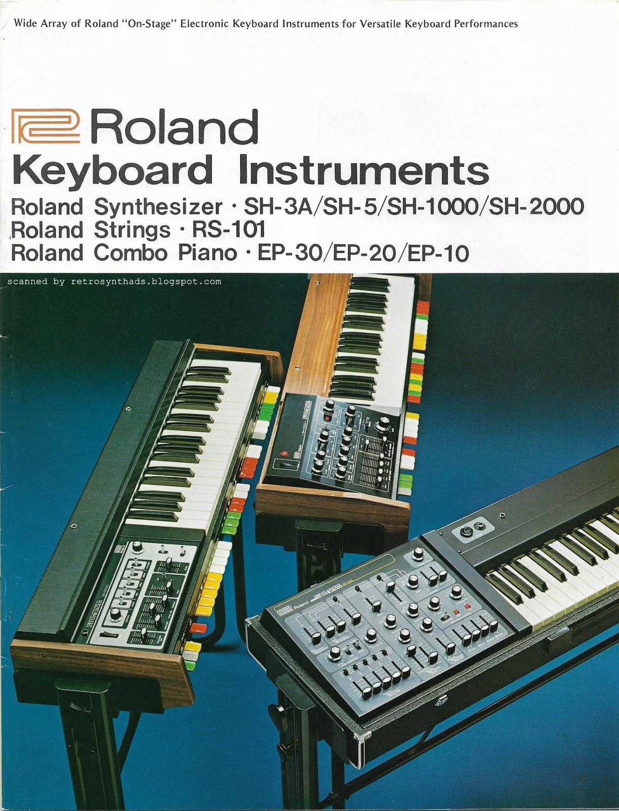 MATRIXSYNTH: 1976 Roland
