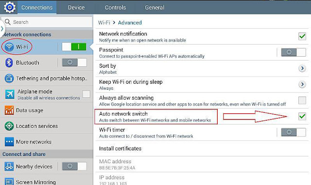 Cara Memperbaiki Samsung Galaxy S8 Internet Tidak Tedeteksi di Jaringan Wi-Fi 1