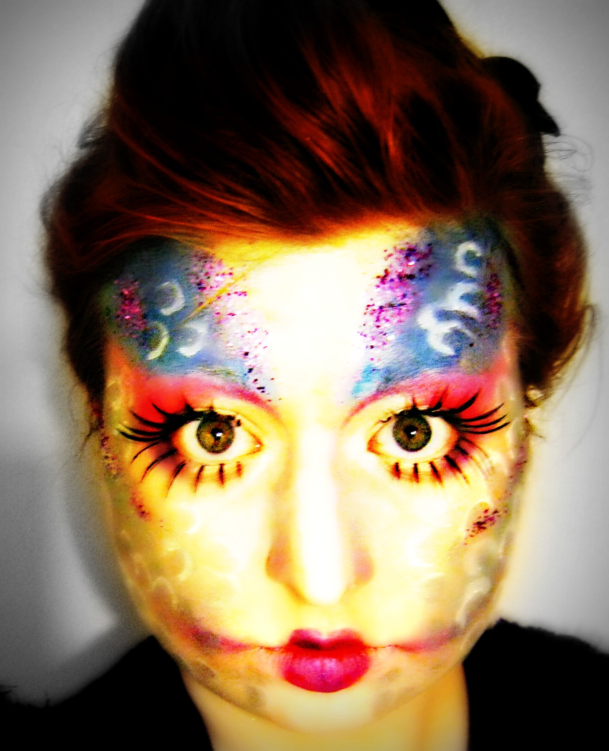 Fish makeup