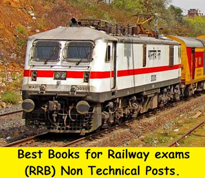 Best Books for Railway exams (RRB) Non Technical Posts
