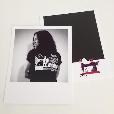 mit Strich und Faden: Retroprints Selbstportrait