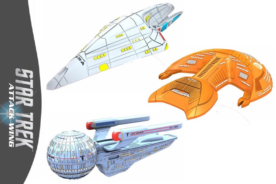Star Trek Starship Collection Shuttle #3 the Type 10 Defiant EAGLEMOSS Eng OVP