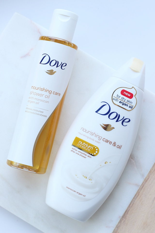 Dove Nourishing & Oil
