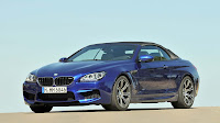 The new BMW M6 Convertible front side