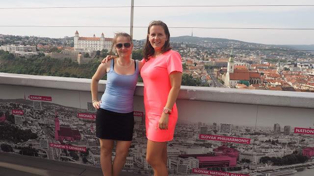 Ufo tower Bratislava :)