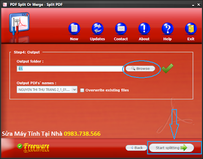 Cắt file PDF với PDF Siplit Or Merge - H07