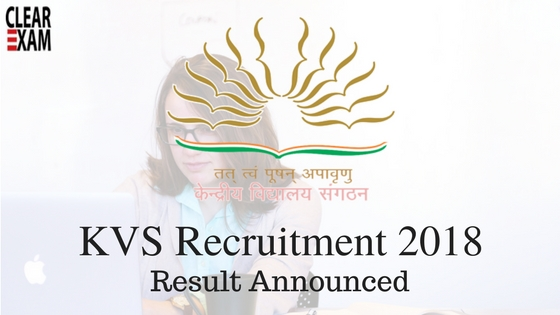 KVS Teachers Recruitment