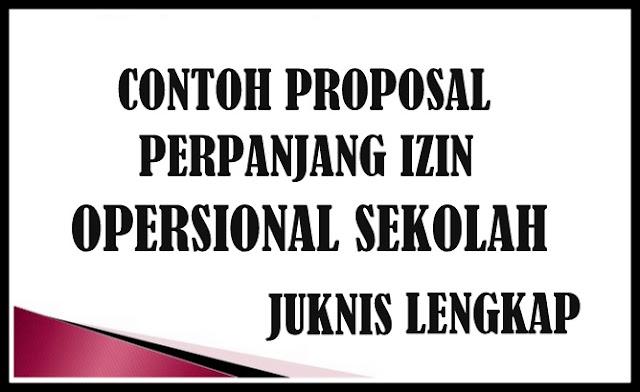 Download Contoh Proposal Perpanjang Izin Operasional Sekolah LENGKAP
