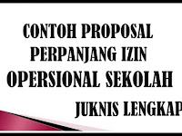 Download Contoh Proposal Perpanjang Izin Operasional Sekolah Versi 2017