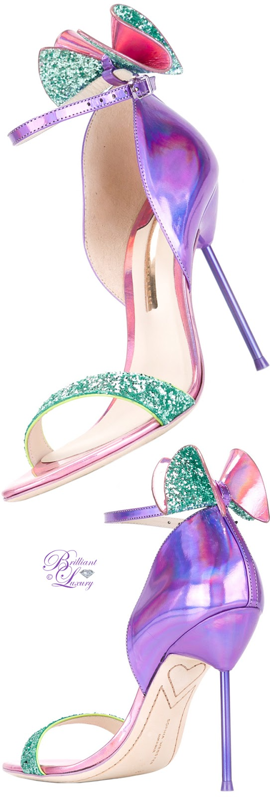 Brilliant Luxury ♦ Sophia Webster Maya Sandals