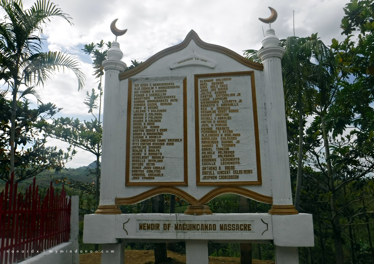 Maguindanao Massacre site in Ampatuan