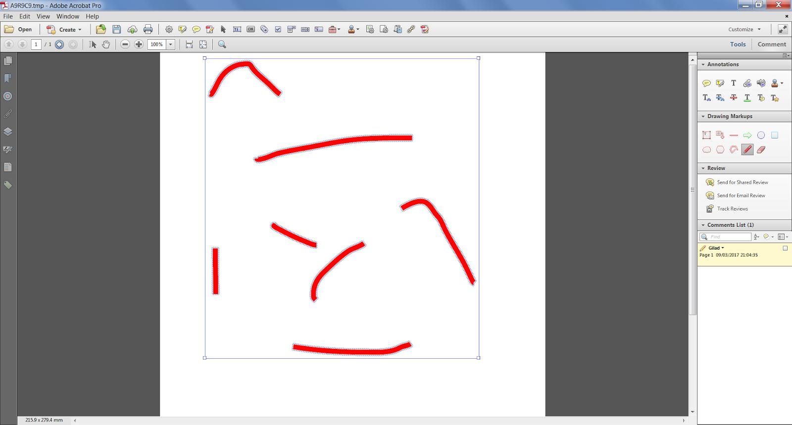 Custom-made Adobe Scripts: Acrobat/Reader -- Ungroup Pencil