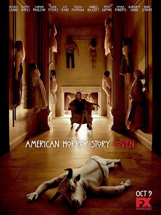 AHS: Coven & The Bell Jar = my trip into Crazy town (PBP 2013 wk 5)