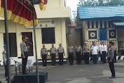 Kapolres Pimpin Apel Kesiapan Pelaksanaan Kampanye Pilkada Sulsel Di Selayar