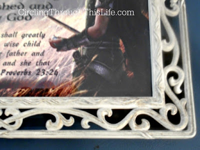 Frame Artist's Choice for Name Meaning Plaque with Bible Verse from CrossTimber #hsreviews