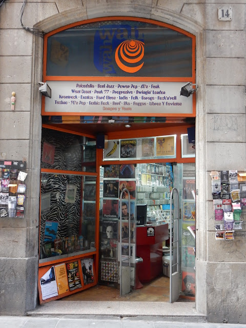 Wah Wah Records - Barcelona Spain - Store Front