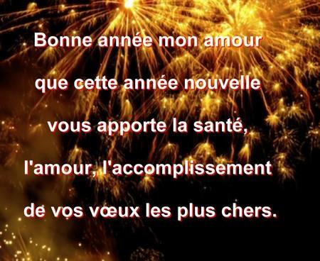 Message De Voeux Bonne Année Messages Et Sms Damour