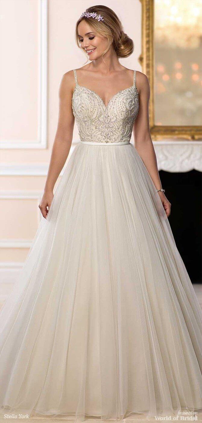 Stella York Spring 2018 Backless Ballgown Wedding Dress: Ball Gown Wedding Dresses Spring At Websimilar.org