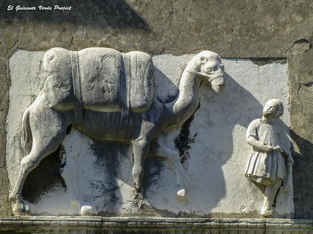 Detalle de la Casa del Camello - Cannaregio, Venecia por El Guisante Verde Project