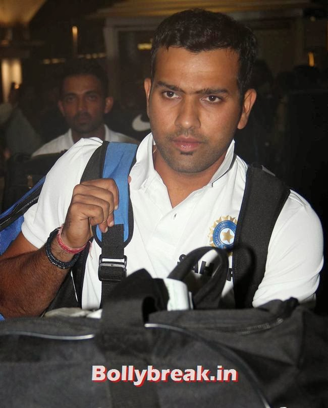 Rohit Sharma, Indian Cricket Team Return from South Africa at Mumbai Airport