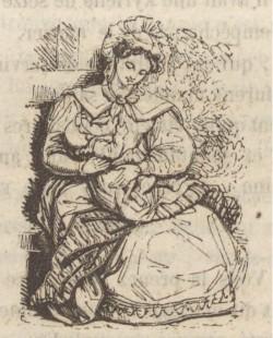 Mujer amamantando
