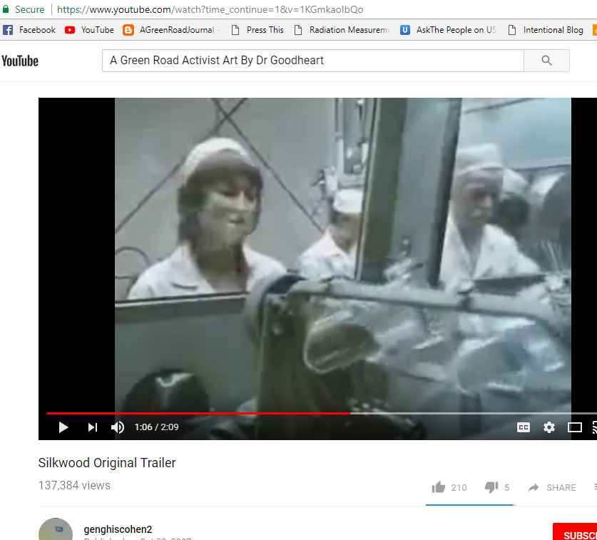 context of silkwood v kerr mcgee nuclear Silkwood is the story of some american workers they happen to work in a kerr-mcgee nuclear plant in oklahoma, making plutonium fuel rods for nuclear reactors.