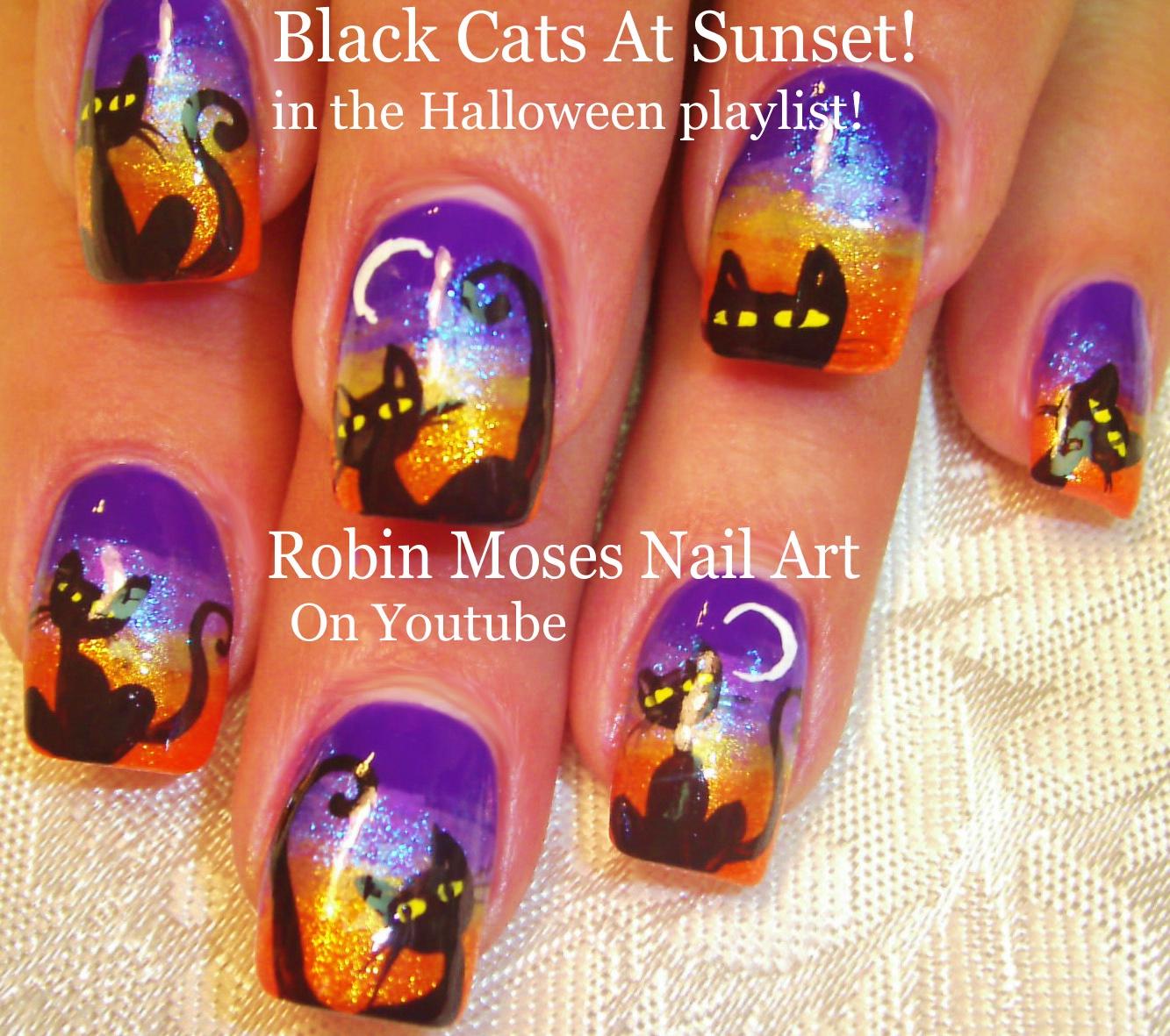 """Robin Moses Nail Art: """"halloween Nails"""" """"halloween Nail"""