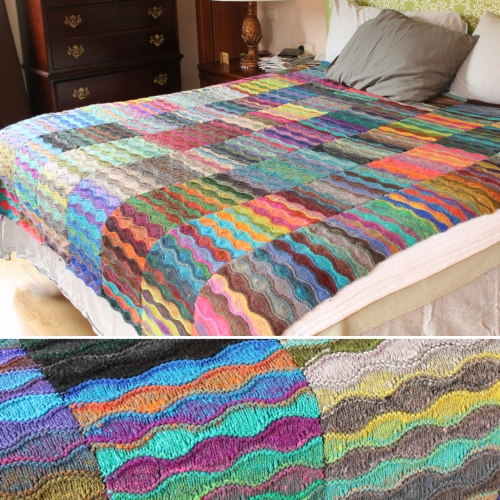 Lizard Ridge - Free Pattern