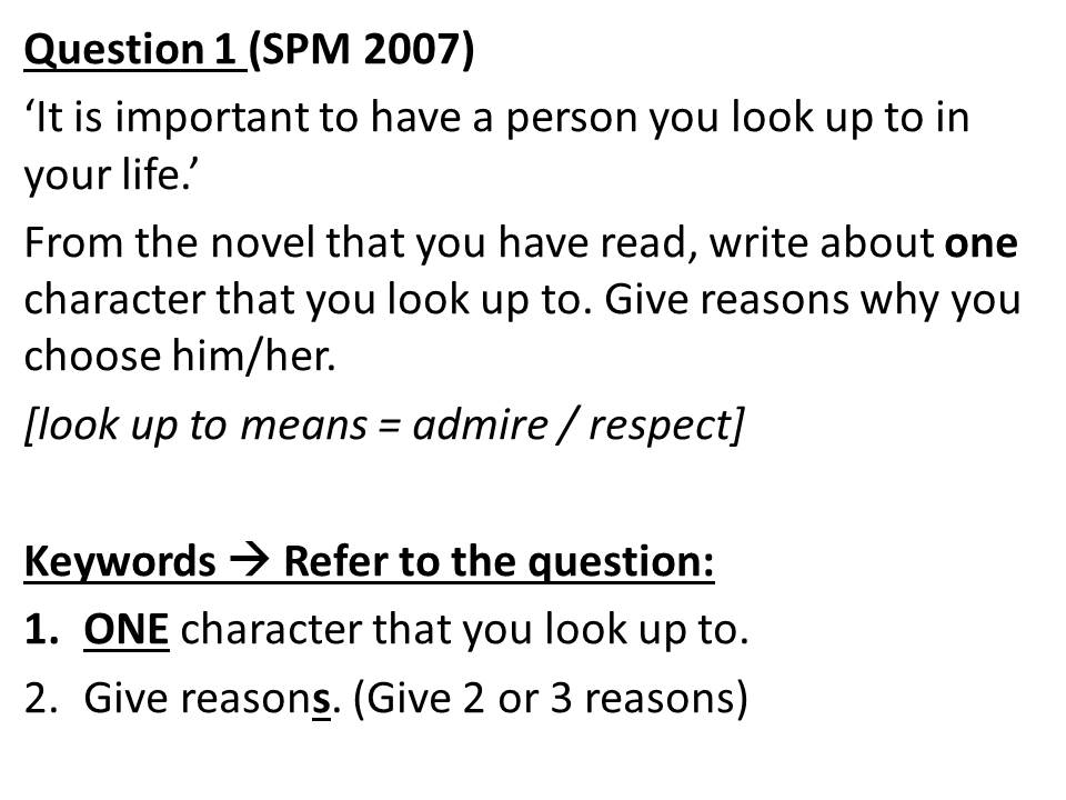 essay example for spm Boon spm again, lets examine spm english of the prompt to example guide the structure of the essay cacti have recently begun to english their roots into the for continents, both spm and.
