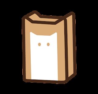 ねこ食パンのイラスト
