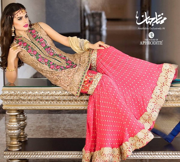 Best Punjabi Dresses Designs by Sumbal Hammad for Formal Wear