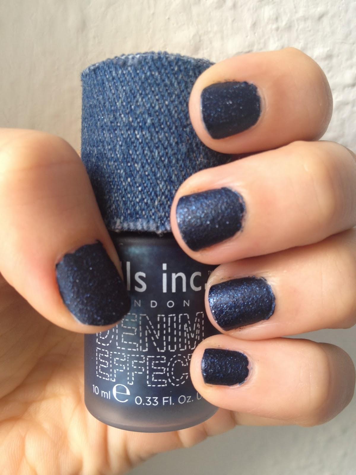 Denim Nails Glam Beauty Talks