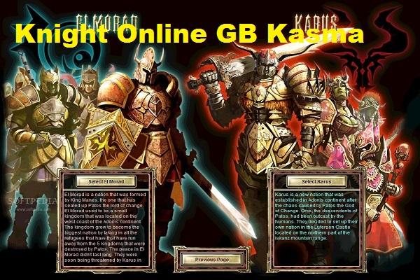 Knight Online GB Kasma 2018