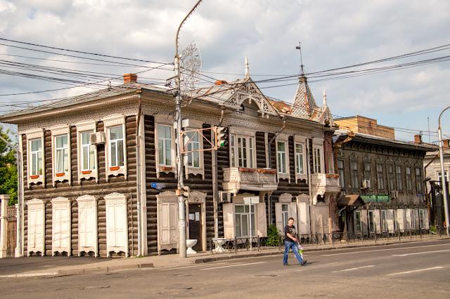 Старинные дома Красноярск