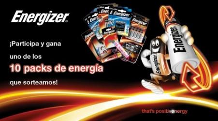 Gana Un Pack de Energía Energizer