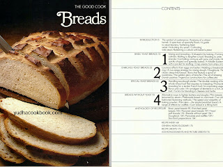 Time life book series, the good cook series, breads the cook book